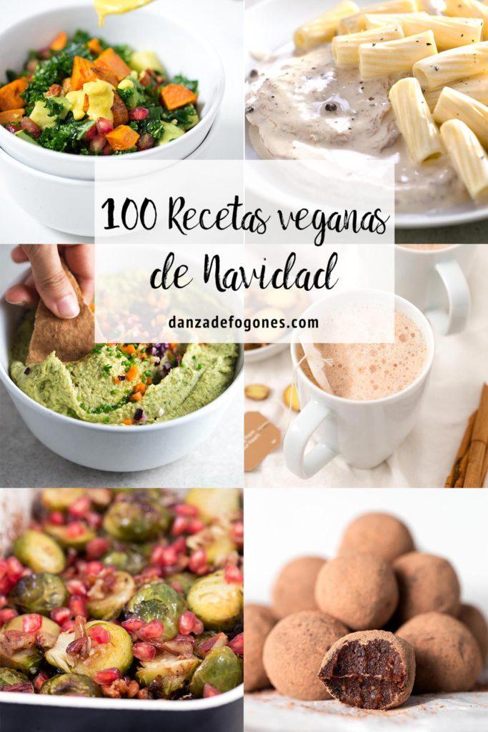 100 recetas veganas para Navidad