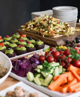 Ofrecerán 6 millones de almuerzos veganos en California